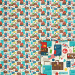 suitcases background paper