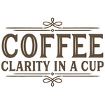 coffee clarity in a cup