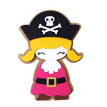 pirate girl card