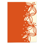 hope flowers lace edged card