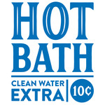 hot bath sign