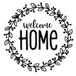 wreath welcome home