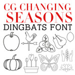 cg changing seasons dingbats