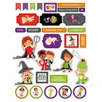 ml halloween costume stickers