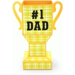 3d father's day trophy box