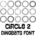 circle 2 dingbats