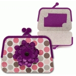 gift card holder flower coin purse