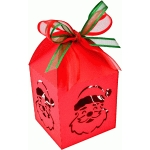 lantern santa claus christmas box