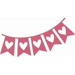 banner hearts