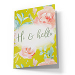 hi hello printable card