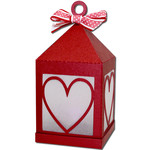 heart hanging tea light lantern