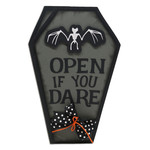 open if you dare coffin card
