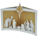 nativity tunnel card