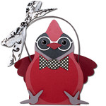 mr. cardinal glasses basket