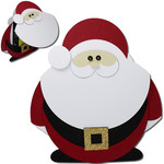 santa flip beard gift card holder