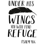 under his wings refuge