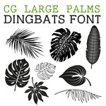 cg large palms dingbats