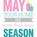may your home be warm phrase
