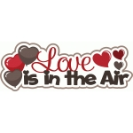 love is in the air valentine's day title/phrase