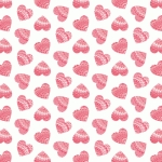 marbled heart pattern