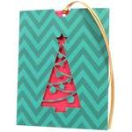 christmas tree envelope card