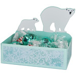 polar bear treat dish