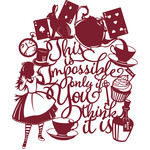 alice impossible quote