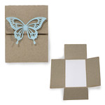 flexi horizontal album - butterfly envelope