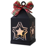 star hanging tea light lantern