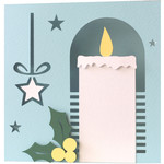 christmas candle card