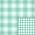 teal gingham pattern