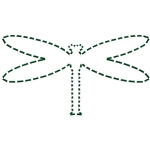 stitched dragonfly