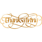 thanksgiving - flourished