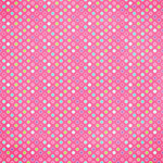 pink multi color dots paper