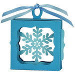 snowflake hanging ornament box