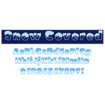 snow covered font