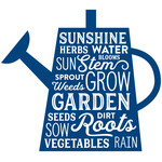 watering can garden words