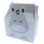 cute hippo box