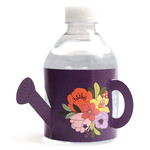 watering can water bottle label