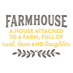 farmhouse rust love & laughter