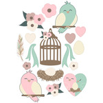 love bird sticker sheet