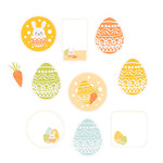 easter planner labels