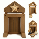 nativity 3d stable & star