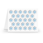 a2 stacking card base snowflakes
