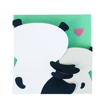 mommy and me menagerie - panda card