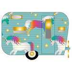 unicorn camping trailer