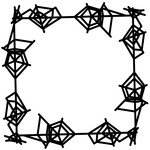spiderweb frame