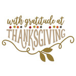 gratitude at thanksgiving