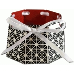 octagonal ribbon basket