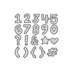 color me patterned numbers